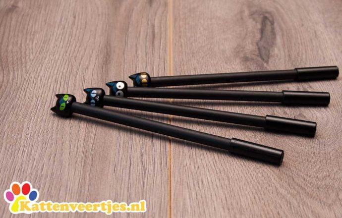 Zwarte Kattenpennen
