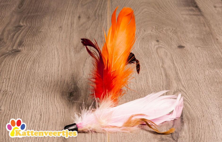 Lori verenkattenspeeltje voor aan een kattenhengel zoals crazy hunter of flexi hunter