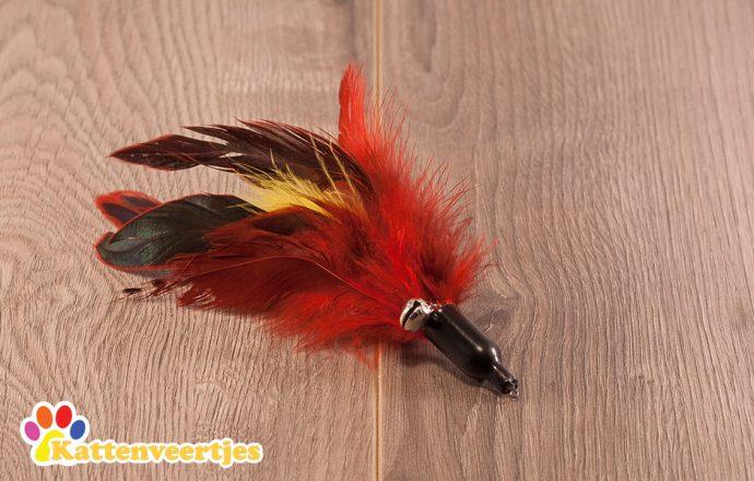 Manakin verenkattenspeeltje voor aan een kattenhengel zoals crazy hunter of flexi hunter