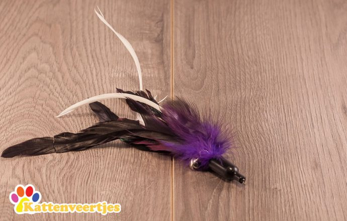 Starling verenkattenspeeltje voor aan een kattenhengel zoals crazy hunter of flexi hunter