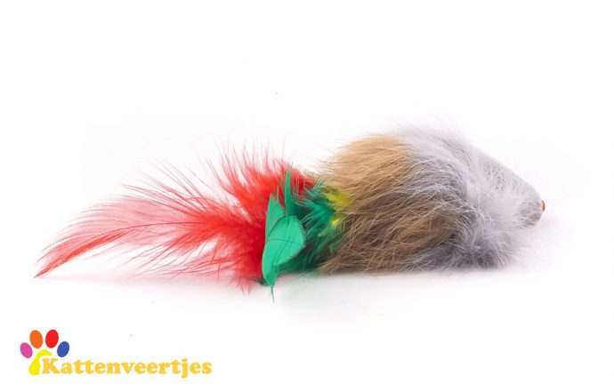 Speelgoedmuis fluffy