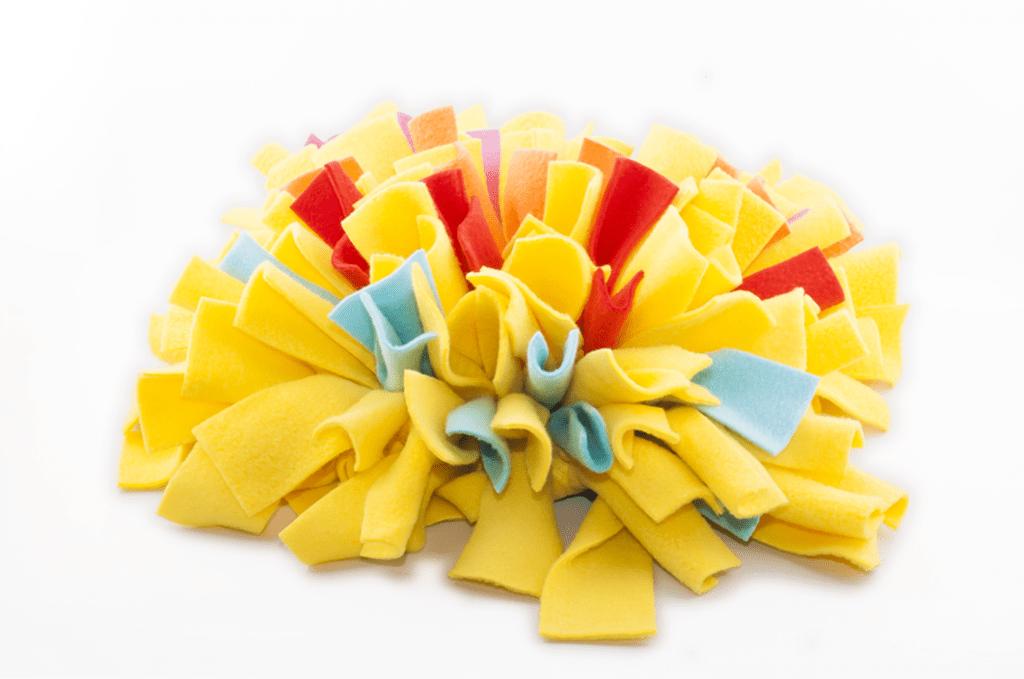 Gekleurde snuffelmat