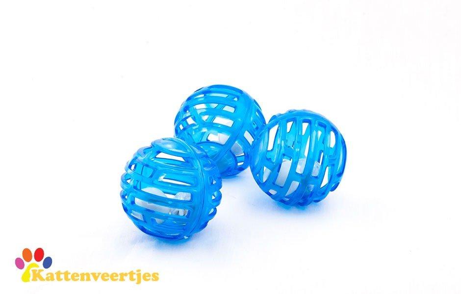 Lichtgevende blauwe balletjes