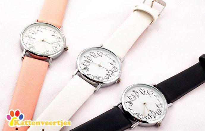 close up van horloges