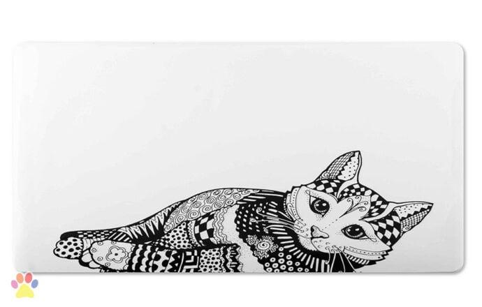 Katten Placemat Zentangle