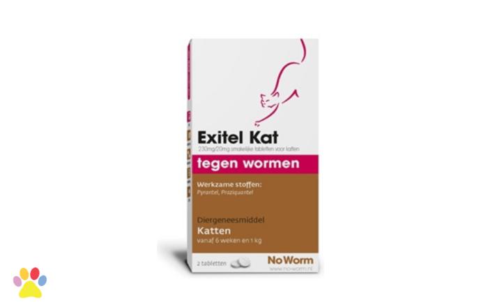 Exitel Kat No Worm voor ontworming