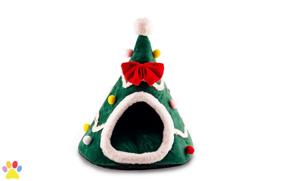 kerstboom mand voor katten