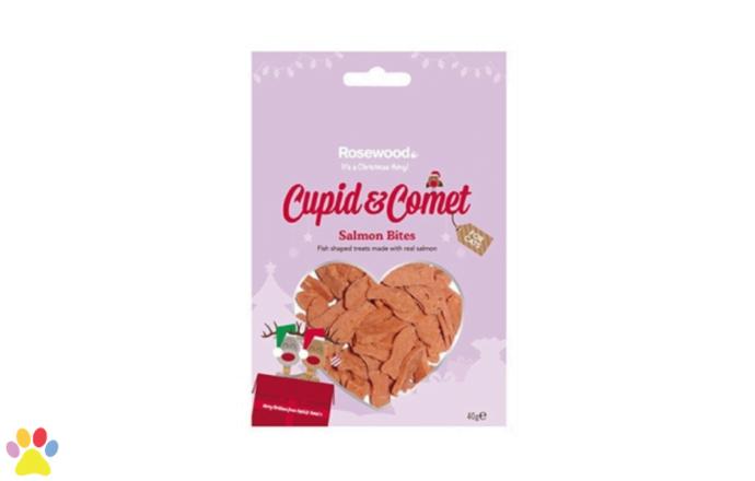 Cupid & Comet Zalm Bites Kerstsnack