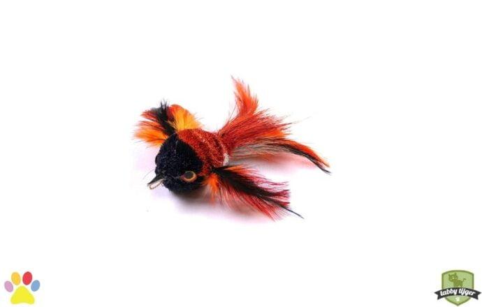 Tabby tijger Kolibrie kattenspeelgoed