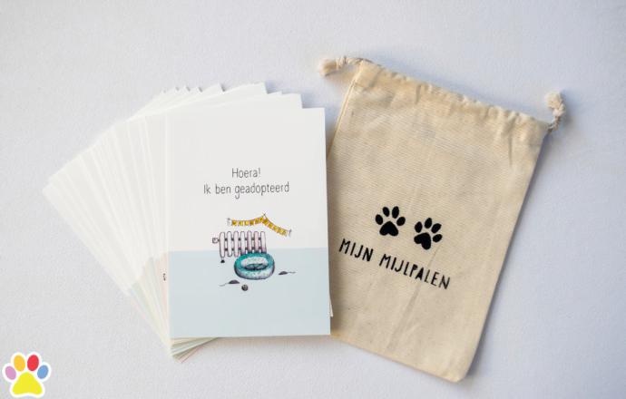 mijlpaal kaarten voor katten