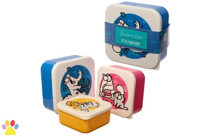 simon's cat lunchbox set 2