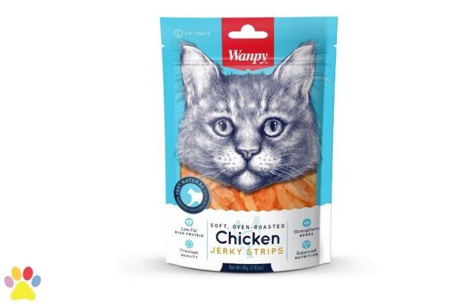 Wanpy - Soft Chicken Jerky Strips for Cat (1)