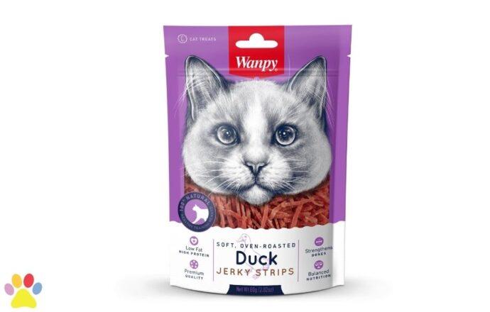 Wanpy - Soft Duck Jerky Strips for Cat (1)