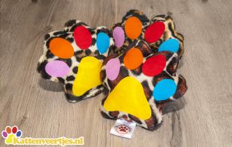 Kattenveertjes CrazyKicker (Fantasy, Leopard & Giraffe)